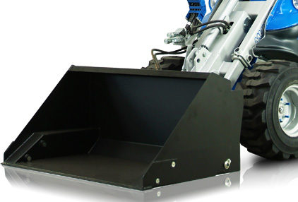 Hight Tip Bucket for mini loaders Multione Featured