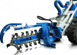 Trencher for mini loaders MultiOne