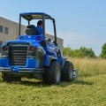 MultiOne mini loader 10 series with flail mower rear