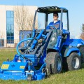 MultiOne mini loader 7 series with lawn mower